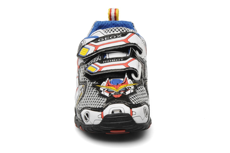 Sneaker Geox B fighter2 q mehrfarbig schuhe getragen