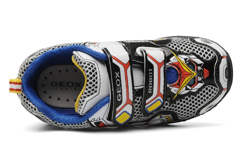 Sneaker Geox B fighter2 q mehrfarbig ansicht von links