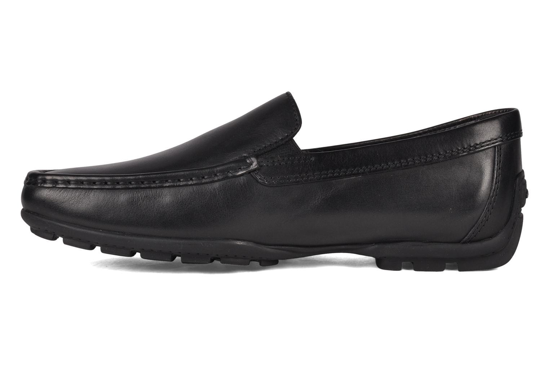 Loafers Geox U MONET W 2FIT B U44Q6B Svart bild från framsidan