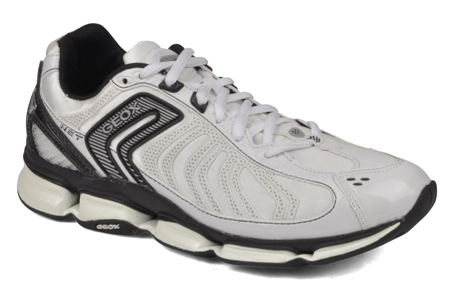 Sport shoes Geox D alpha b White detailed view/ Pair view