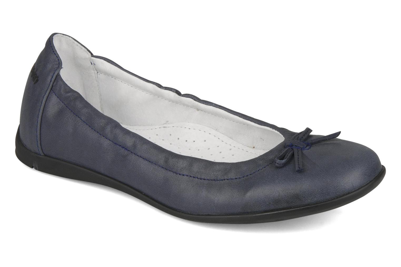 Ballerinaer GBB Kiki Blå detaljeret billede af skoene