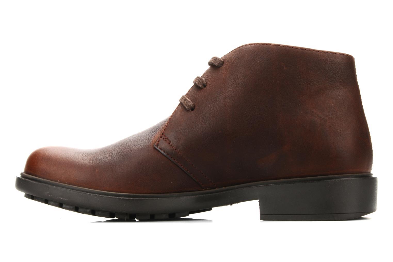 Chaussures à lacets Camper 1912 36426 Marron vue face
