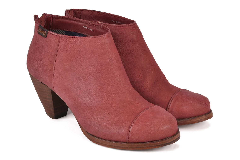 Bottines et boots Camper Annie alto 46335 Rouge vue 3/4