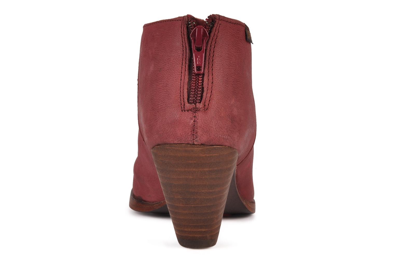 Bottines et boots Camper Annie alto 46335 Rouge vue droite
