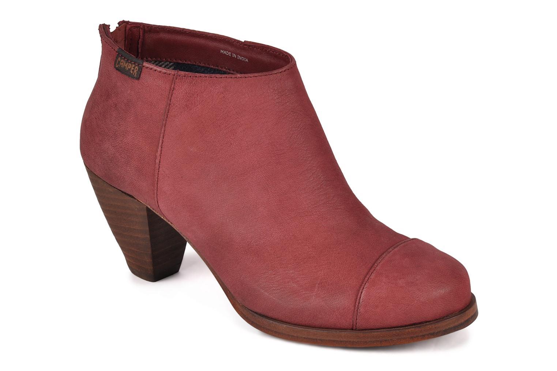 Bottines et boots Camper Annie alto 46335 Rouge vue détail/paire