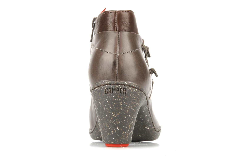 Bottines et boots Camper Peu nara 46279 Marron vue droite