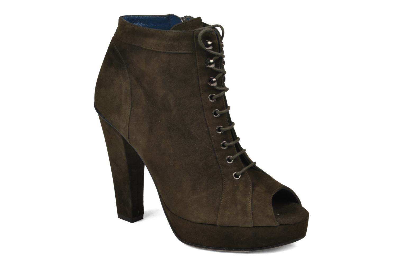 Ankelstøvler JB MARTIN Nuage Grøn detaljeret billede af skoene