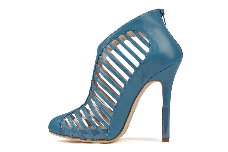 Botines  Mary-Kyri Zoa Azul vista de frente