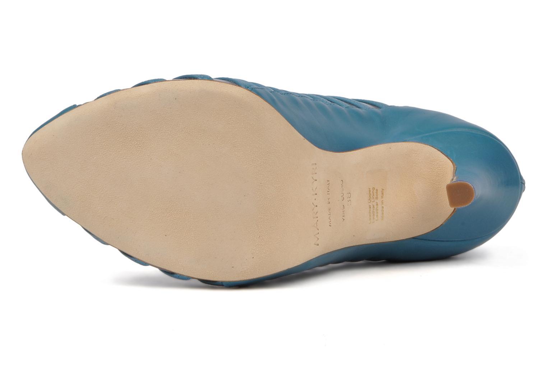 Stiefeletten & Boots Mary-Kyri Zoa blau ansicht von oben