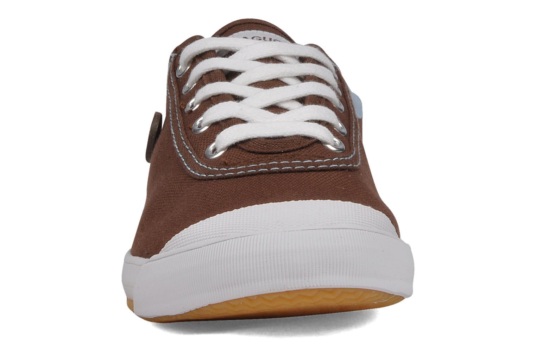 Baskets Faguo Oak w Marron vue portées chaussures