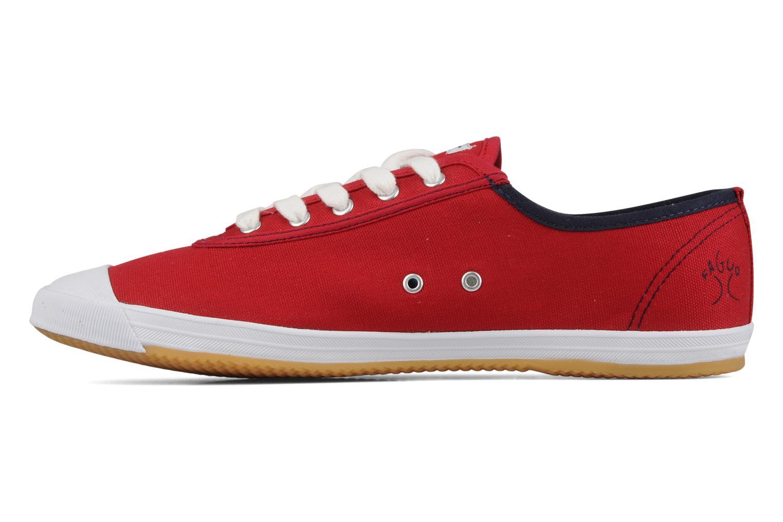 Sneakers Faguo Oak m Rood voorkant