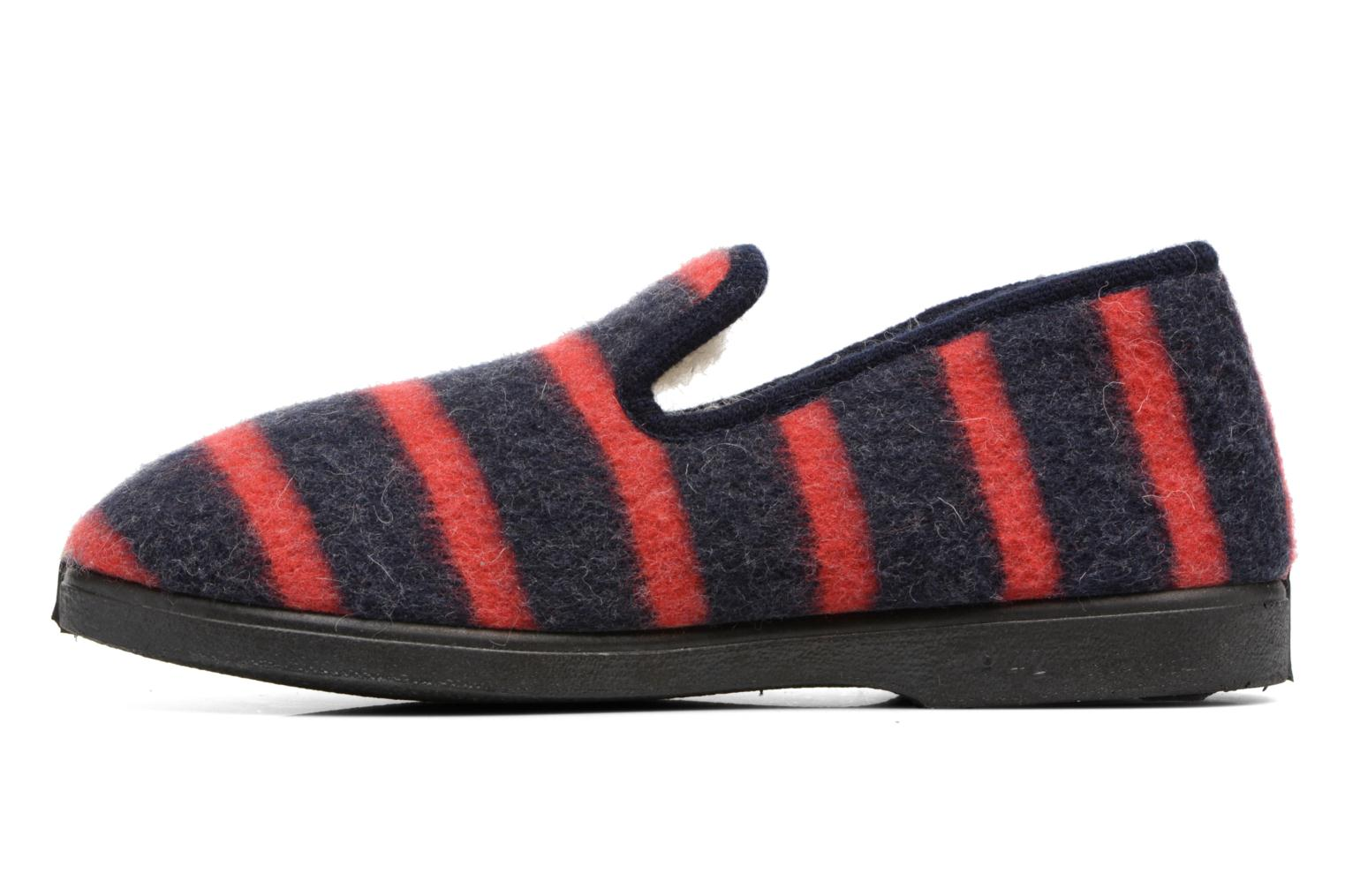 Slippers Rondinaud Morlaix Blue front view
