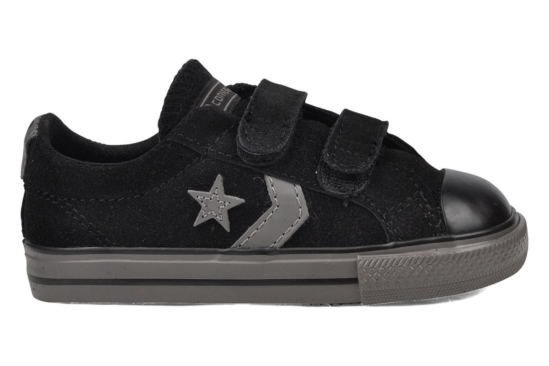 Sneaker Converse Star player 2v suede ox schwarz ansicht von hinten
