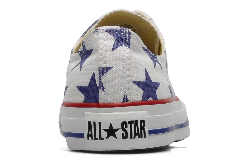 Baskets Converse Chuck Taylor All Star Big Star Print Ox W Blanc vue droite