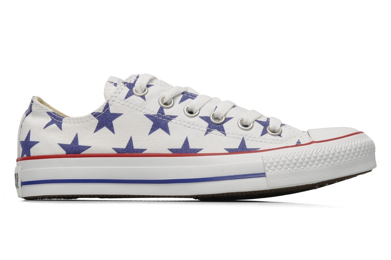 Chuck Taylor All Star Big Star Print Ox W Blanc/Marine Fonce