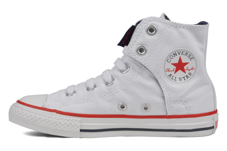 Sneakers Converse Chuck taylor all star easy slip hi K Wit voorkant