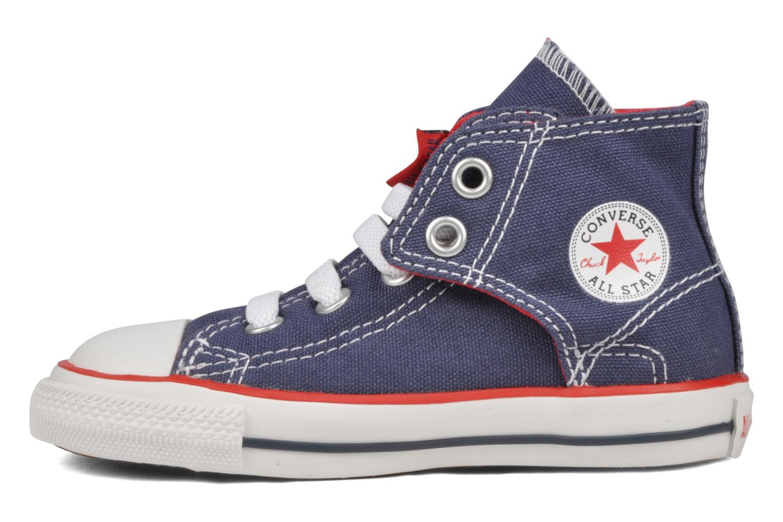 Sneakers Converse Chuck taylor all star easy slip hi K Blauw voorkant