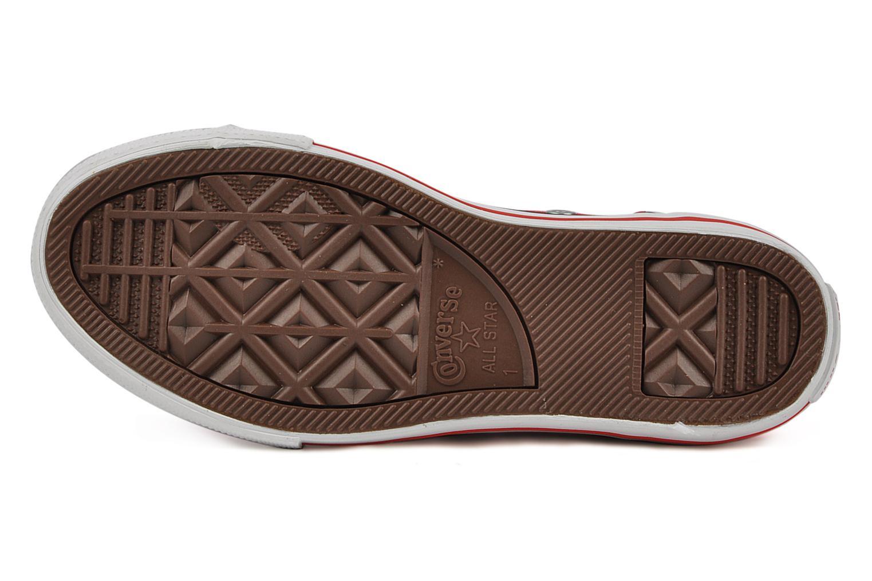 Sneaker Converse Chuck taylor all star easy slip hi K rot ansicht von oben