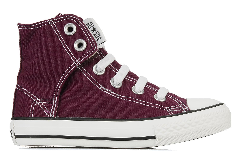 Baskets Converse Chuck taylor all star easy slip hi K Violet vue derrière