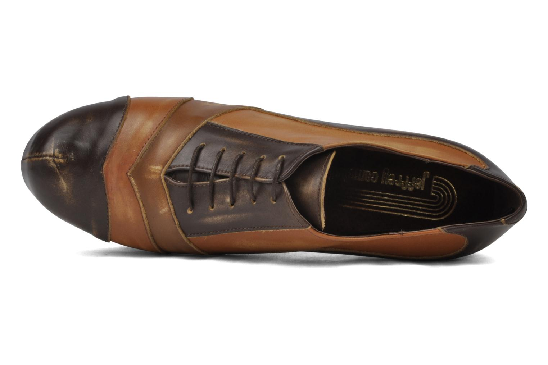 Chaussures à lacets Jeffrey Campbell Alexia Marron vue gauche