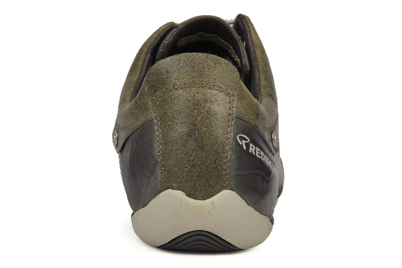 Sneaker Redskins Iann grau ansicht von rechts