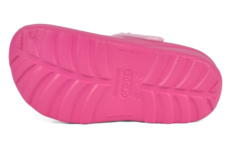 Sandalen Crocs Hello kitty custom clog Roze boven