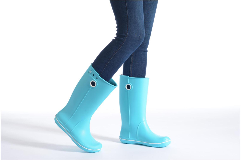 Laarzen Crocs Crocband jaunt women's Blauw onder