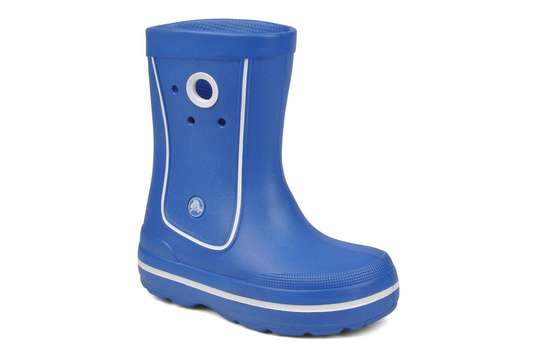 Bottes Crocs Crocband jaunt Bleu vue détail/paire