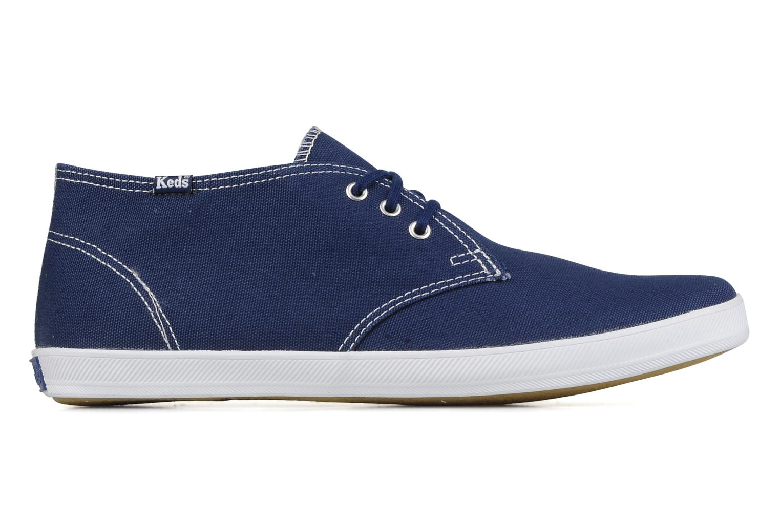 Trainers Keds Chukka Canvas Blue back view