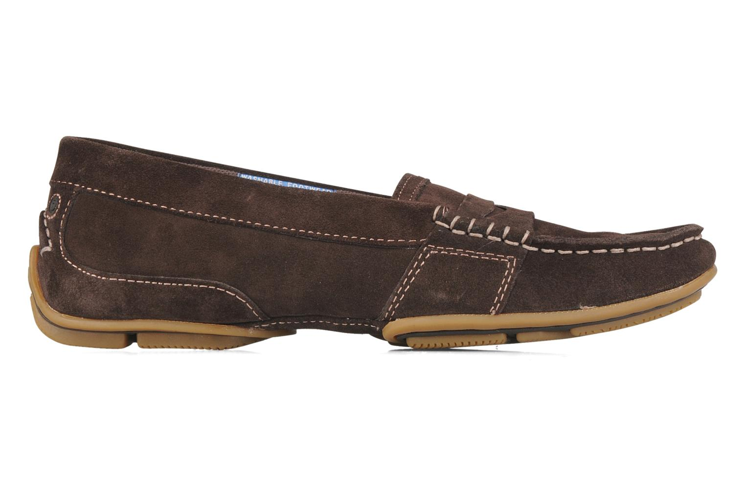 Loafers Rockport Mesh moc Brown back view