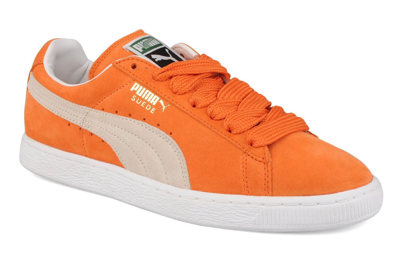 puma suede arancio