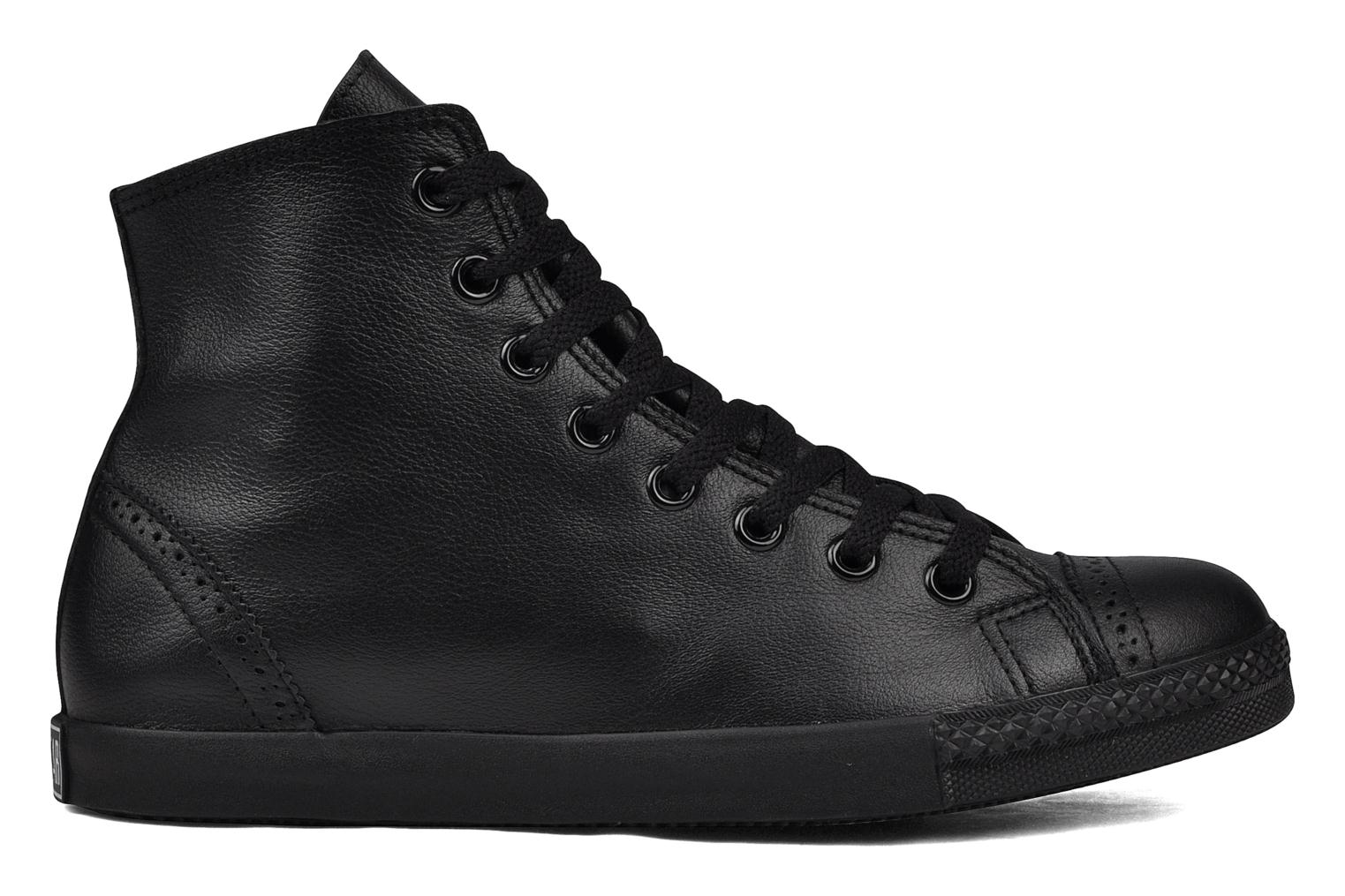 Trainers Converse Chuck Taylor mnml wingtip hi M Black back view