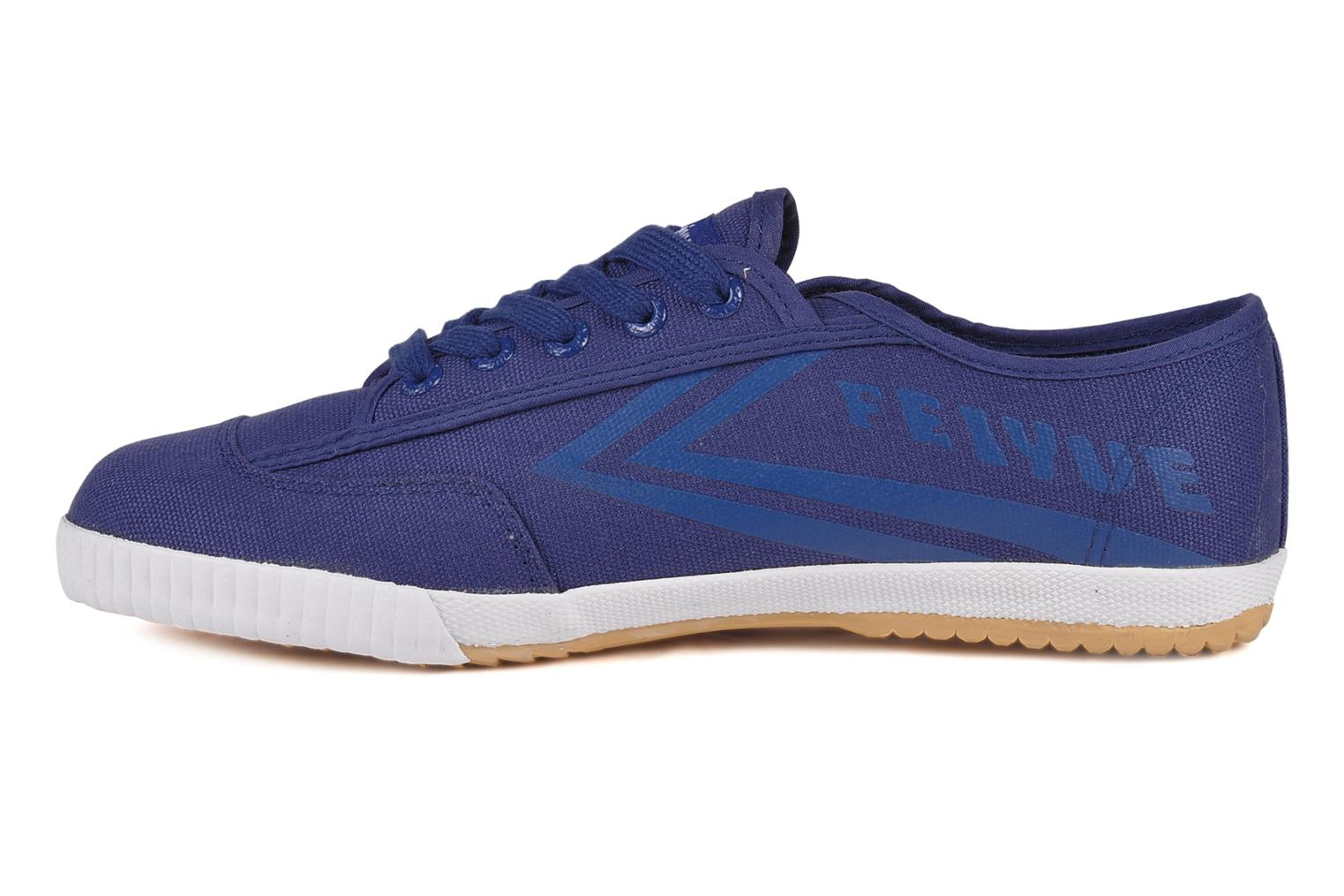 Trainers Feiyue Fe lo plain m Blue front view