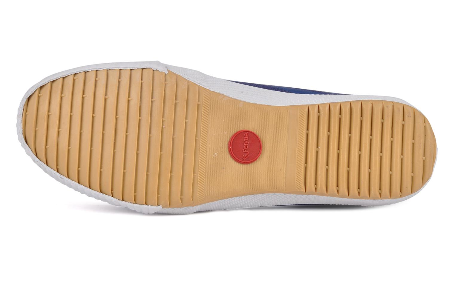 Trainers Feiyue Fe lo plain m Blue view from above