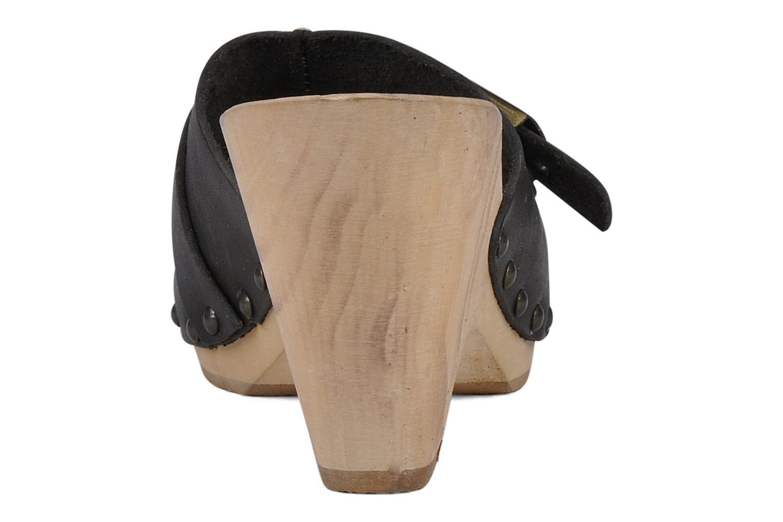 Volute Black leather