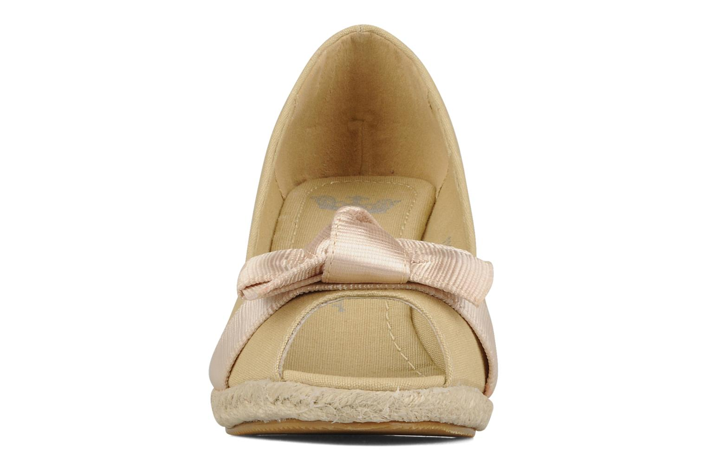 Høje hæle Friis & company Tonika Beige se skoene på