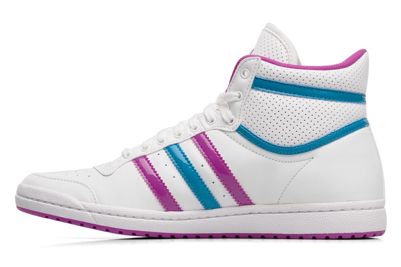 Trainers Adidas Originals Top ten hi sleek w White front view