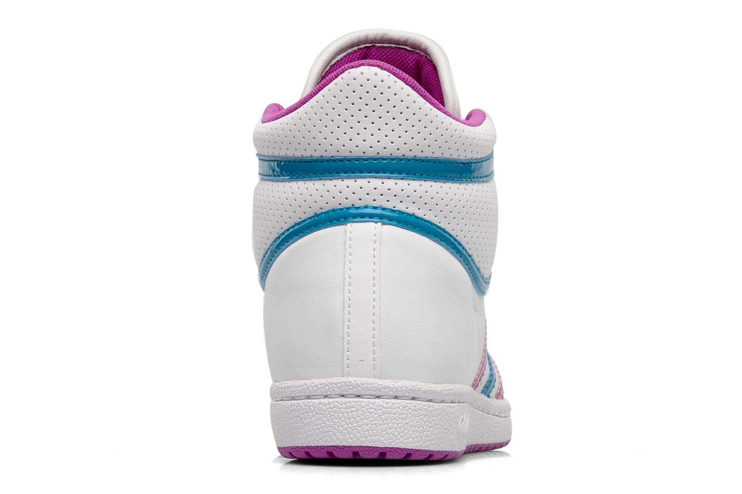 Trainers Adidas Originals Top ten hi sleek w White view from the right