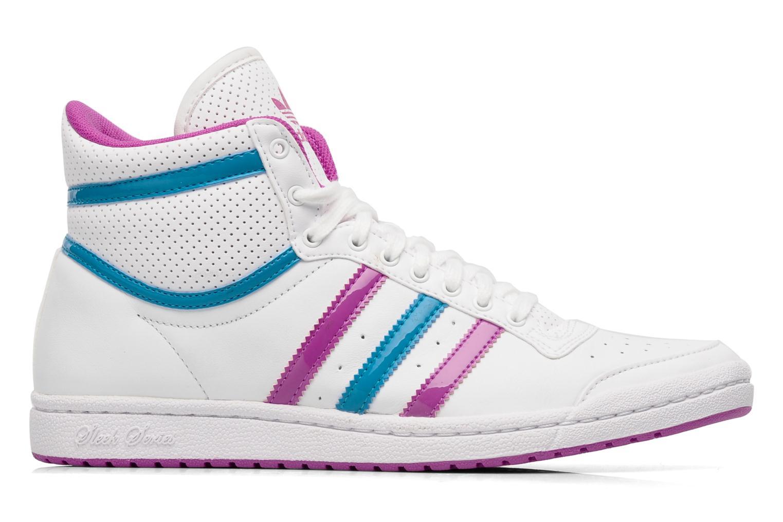 Trainers Adidas Originals Top ten hi sleek w White back view