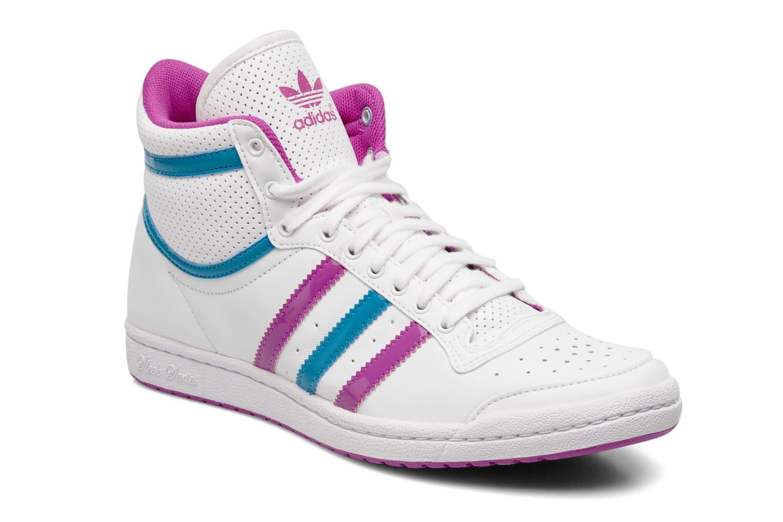 Trainers Adidas Originals Top ten hi sleek w White detailed view/ Pair view