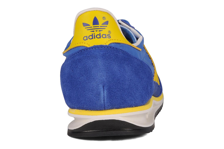 Sneakers Adidas Originals Sl 72 Blauw rechts