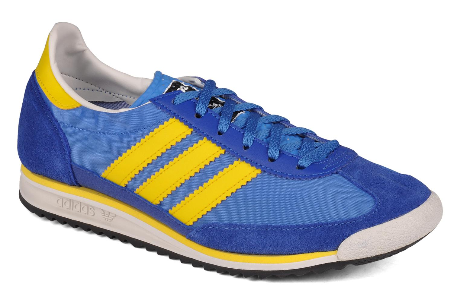 Sneakers Adidas Originals Sl 72 Blauw detail