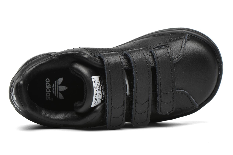 Sneakers Adidas Originals Stan smith cf I Zwart links