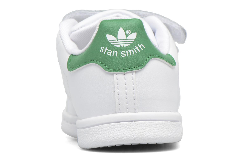 Deportivas Adidas Originals Stan smith cf I Blanco vista lateral derecha