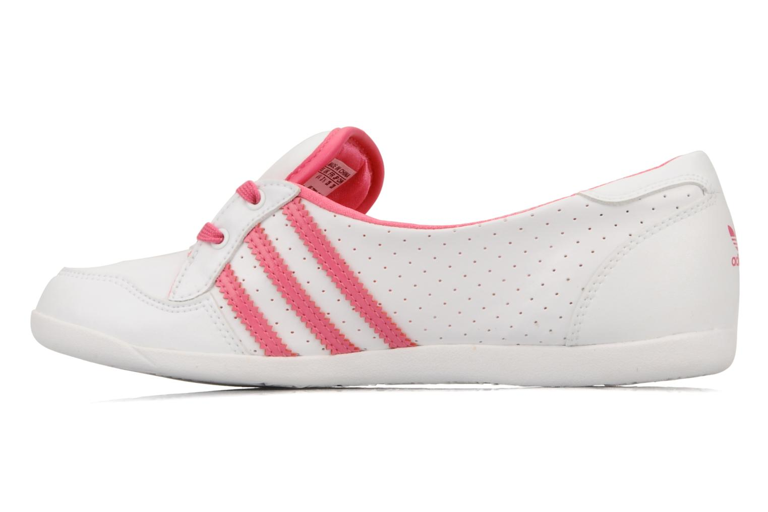 Ballerina's Adidas Originals Forum slipper Wit voorkant