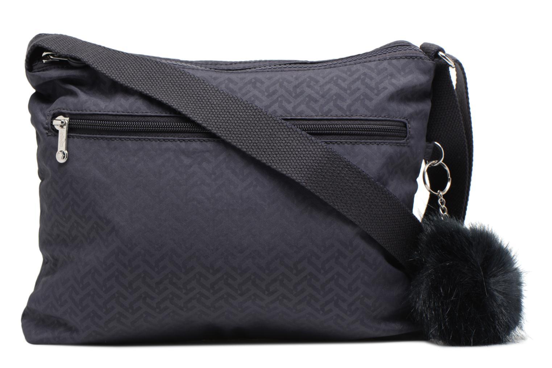 Handtaschen Kipling Alvar blau ansicht von vorne