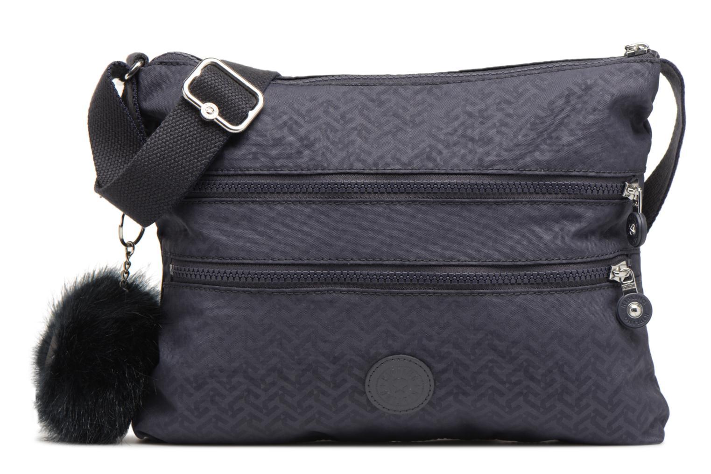 Handtassen kipling Alvar Blauw detail