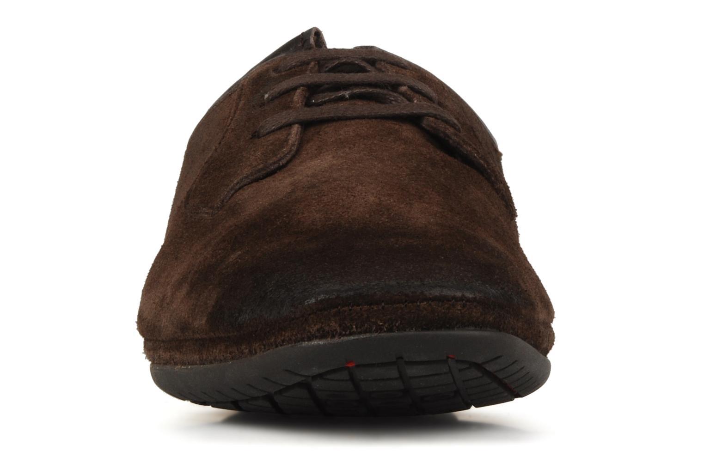 Lace-up shoes Base London Talon Brown model view