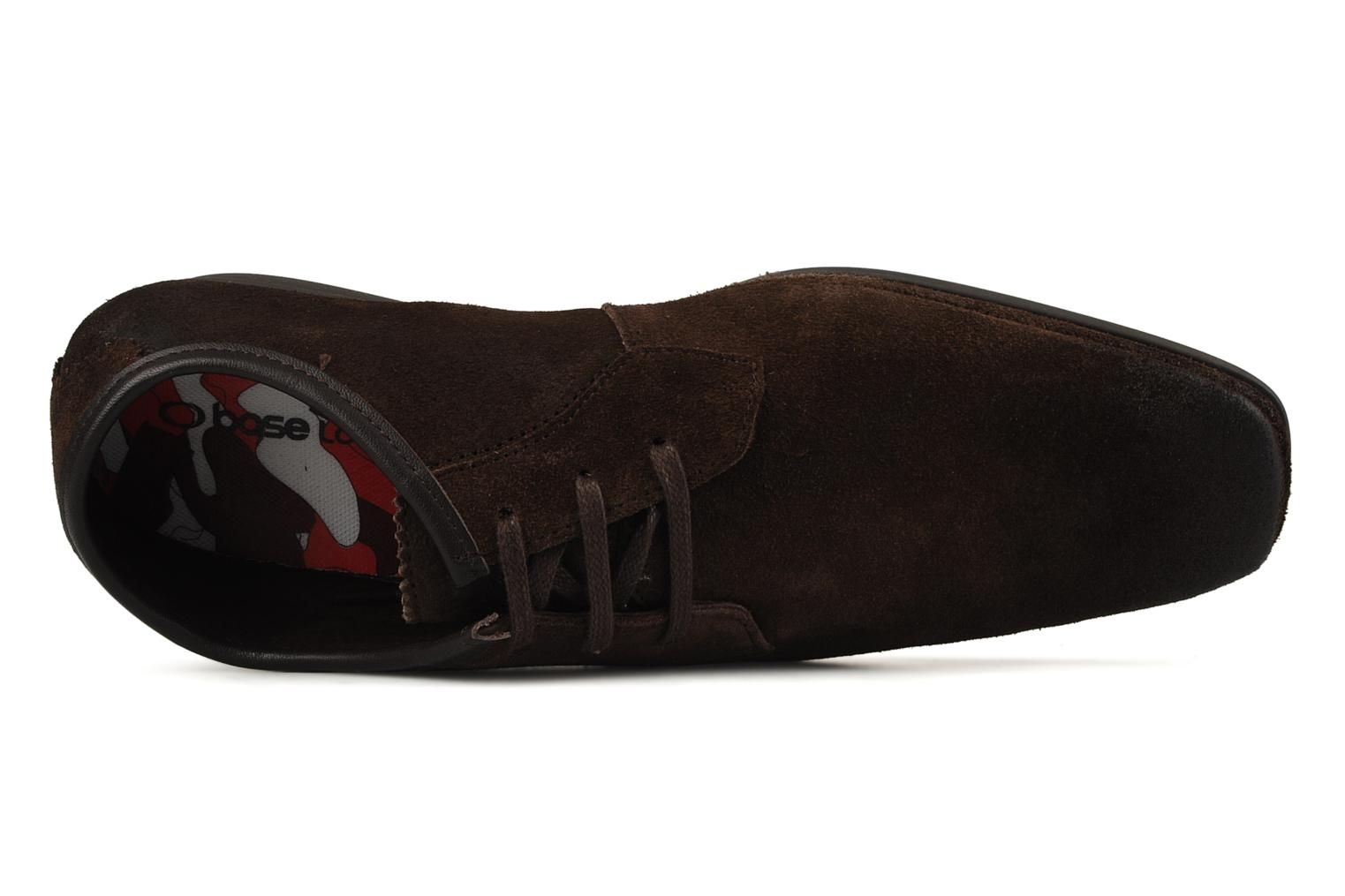 Lace-up shoes Base London Talon Brown view from the left