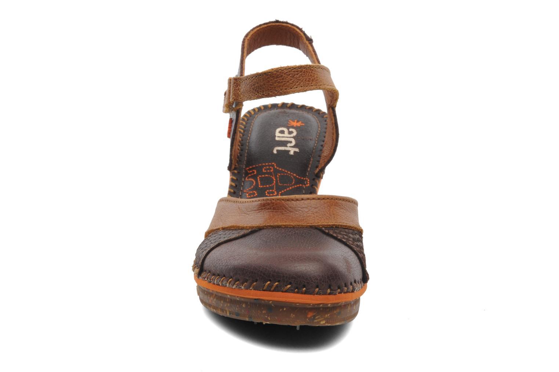 Sandales et nu-pieds Art Amsterdam 313 Marron vue portées chaussures